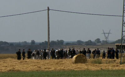 Protest koło kopalni. Policja wylegitymowała około 90 osób