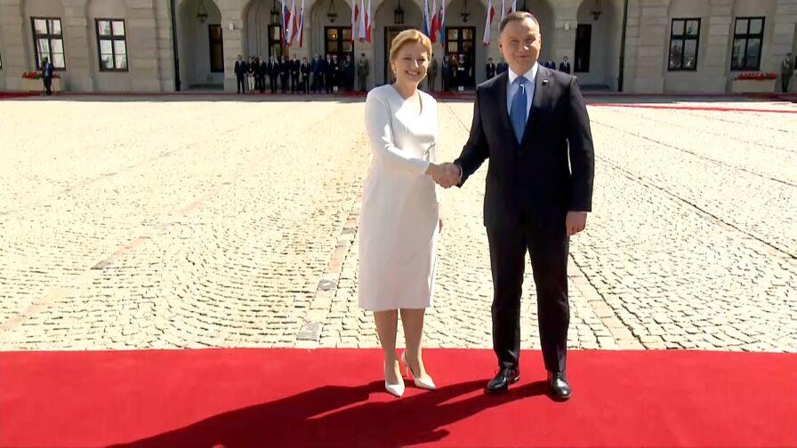 Prezydent Słowacji z wizytą w Polsce