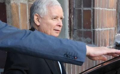 Jarosław Kaczyński wyszedł ze szpitala