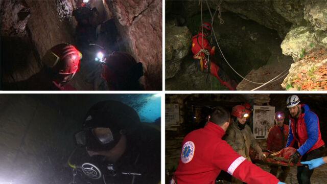 Ciasno, ciemno i zimno. Akcja ratunkowa w jaskini to ekstremalne wyzwanie