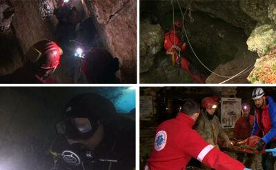 Liczy się sprzęt, czas i wyszkolenie. Akcja ratunkowa w jaskini to ogromne wyzwanie