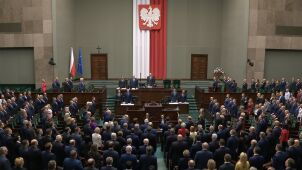 Both houses of Polish parliament held inaugural sessions