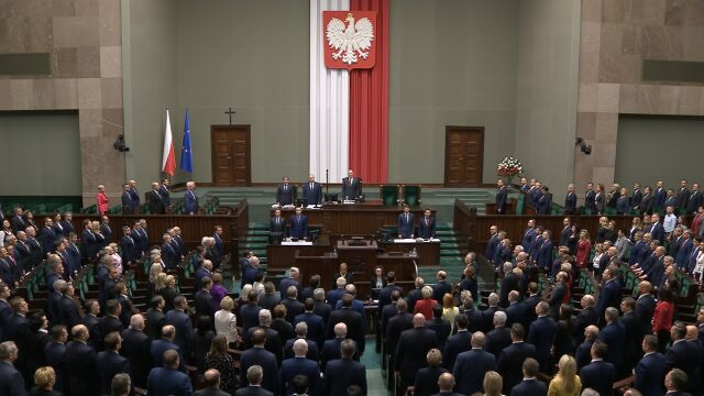 The inaugural session of the Sejm has been opened by the Senior Marshal Antoni Macierewicz