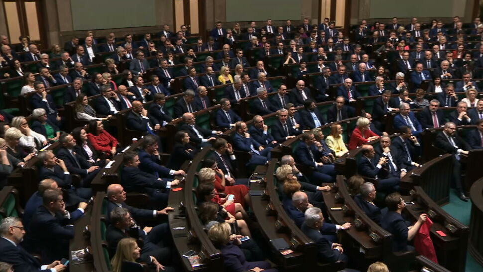 Prezydium Sejmu w nowym składzie