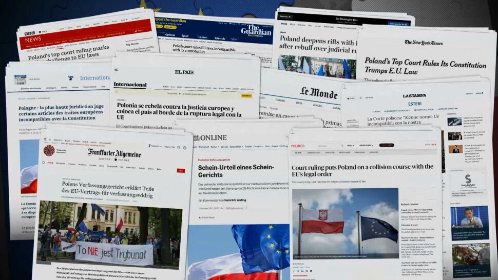"""""""Nie można tej sytuacji porównywać z brexitem"""". Europejskie media o wyroku TK"""