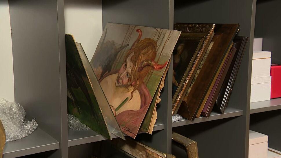 Mieszkanka Krakowa całe życie gromadziła cenne obrazy i pamiątki. Teraz trafiły w ręce miasta