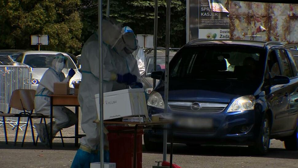 Potwierdzono 584 nowych zakażeń SARS-CoV-2 w Polsce