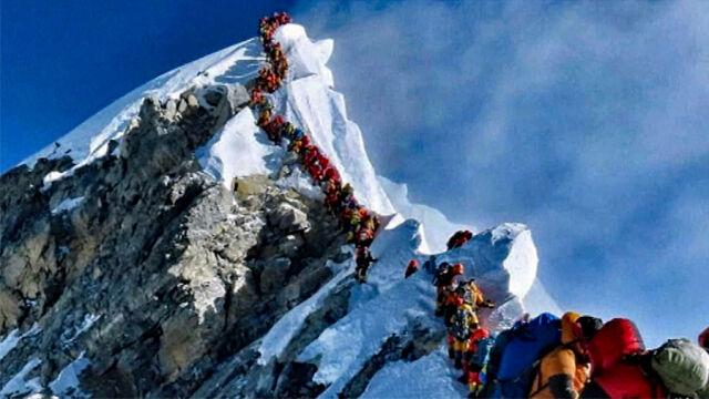Zaostrzono przepisy przeciw oblężeniu Mount Everest