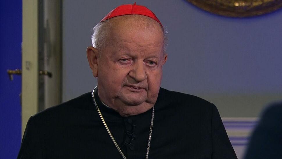 """""""Nigdy nie wspierałem osób niegodnych w zamian za datki"""". Oświadczenie kardynała Dziwisza"""