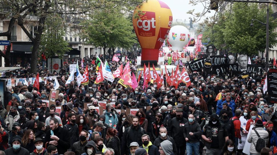 Liczne manifestacje we Francji. W Paryżu interweniowała policja