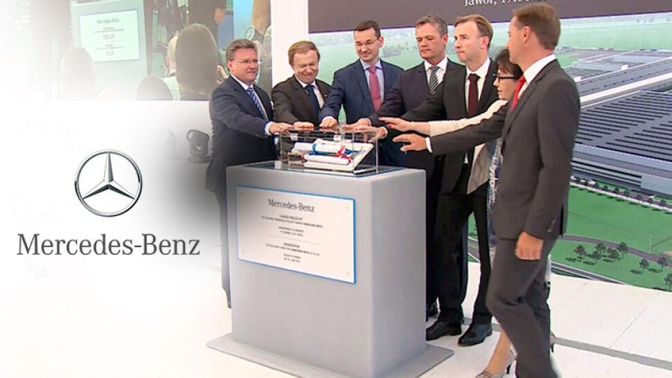 W Jaworze powstanie fabryka silników dla Mercedesa