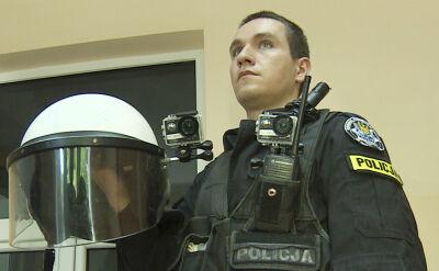 Policja testuje kamery mundurowe. Docelowo mają rejestrować wszystkie interwencje