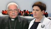 """Biskup Pieronek mówi o """"żałosnej"""" postawie rządu w sprawie uchodźców. Szef MSZ: rozważamy program czasowej pomocy"""