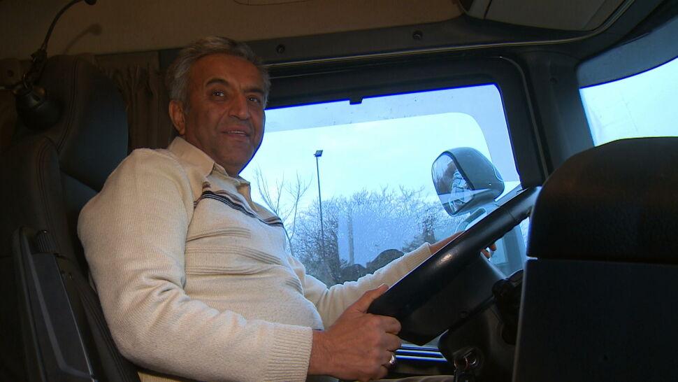 """""""Moja żona mówi, że ludzie, których spotkałem, to anioły"""". Fardin wróci do domu nową ciężarówką"""
