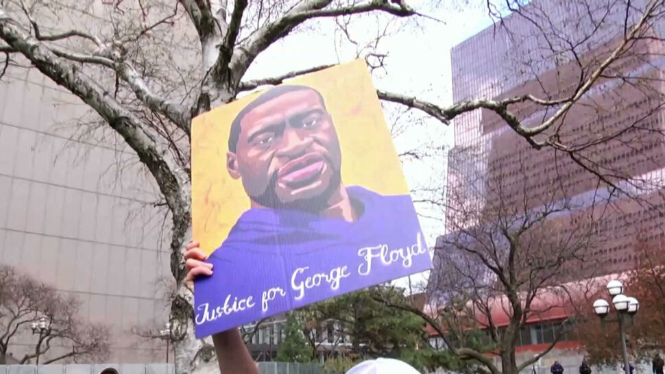 Były policjant uznany winnym morderstwa George'a Floyda