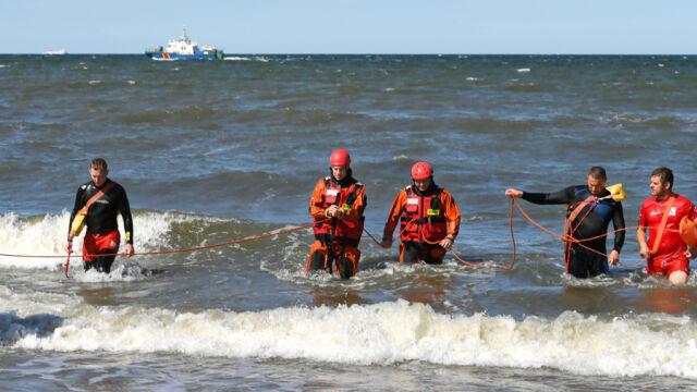 Nastolatkowie zniknęli w morzu. Obaj nie żyją