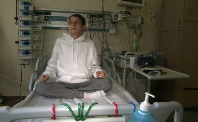 Lekarze przeszczepili mu oba płuca i wątrobę. 21-letni Rafał ma szansę na normalne życie