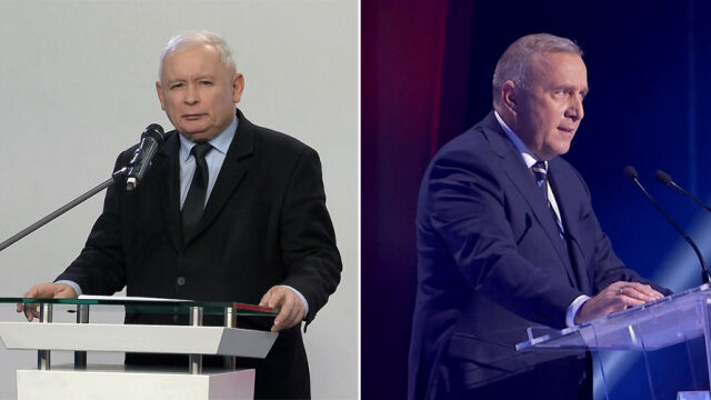 Jarosław Kaczyński and Grzegorz Schetyna, as leaders of the two biggest parties in Pland, face post-election dilemmas