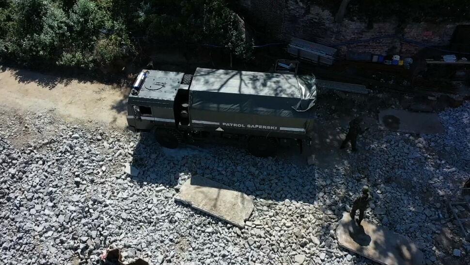 Ćwierćtonowa bomba na dnie Odry. Konieczna była ewakuacja