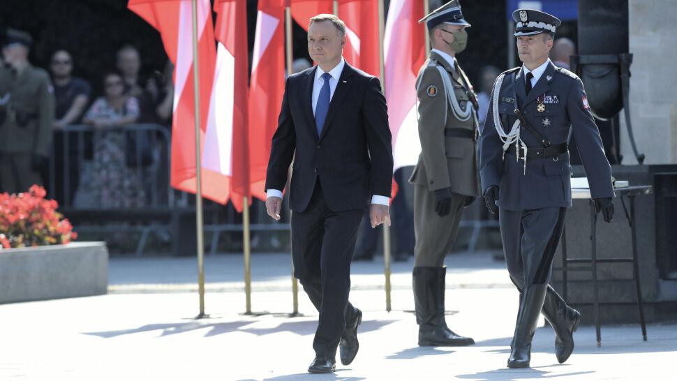 Andrzej Duda w orędziu pominął kwestię członkostwa Polski w Unii