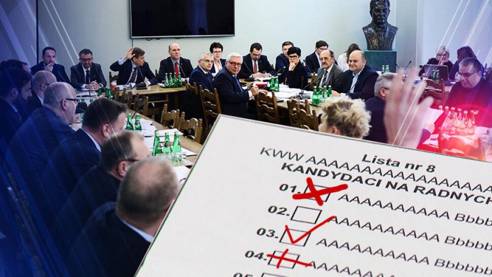 """Eksperci i opozycja krytykują zmiany w Kodeksie wyborczym. """"Państwo cofacie w rozwoju ordynację"""""""