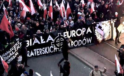 """Ekstremiści w sieci zachęcają do udziału w marszu. Policja zakłada """"przede wszystkim pozytywne scenariusze"""""""