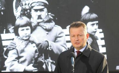 Rząd organizuje swój marsz w stolicy. Minister Błaszczak zaprasza wszystkich