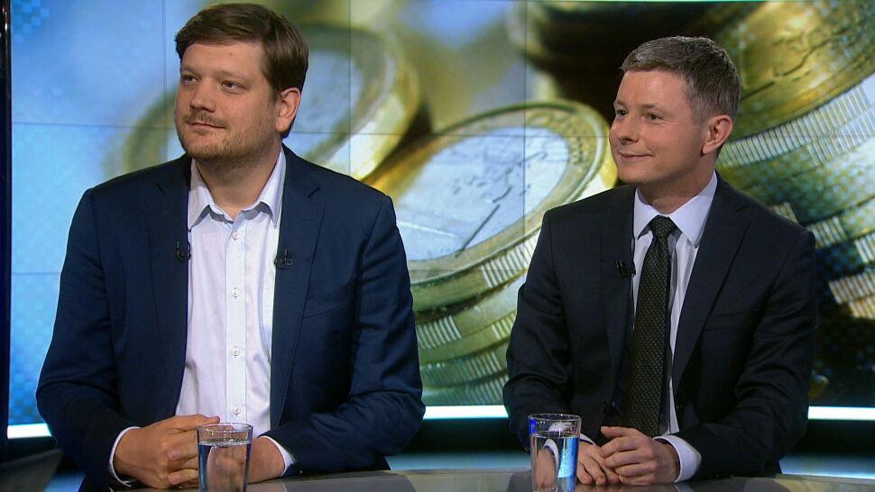 Euro a pensje, ceny i kredy. Eksperci odpowiadają na pytania widzów