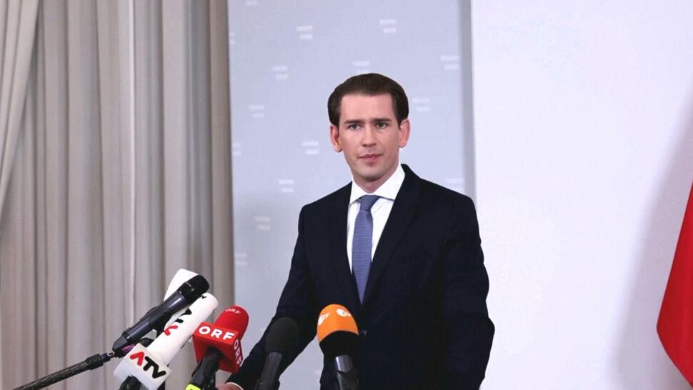 Kanclerz Austrii Sebastian Kurz podał się do dymisji