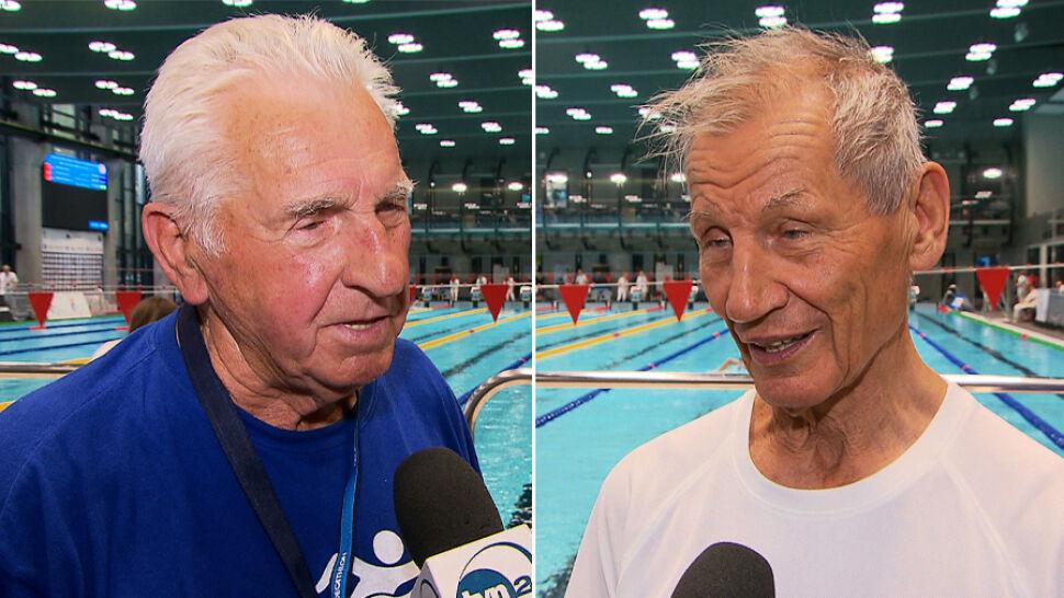 Mają 96 i 86 lat. Startują w zawodach pływackich i odnoszą sukcesy