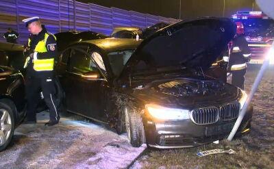 Kierowca Macierewicza bez przeszkolenia i bez uprawnień w dniu wypadku