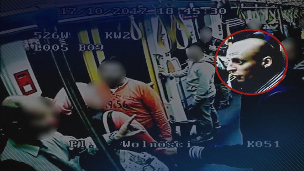 Wyzwiska, groźby i plucie. Policja szuka sprawców ataku w poznańskim tramwaju
