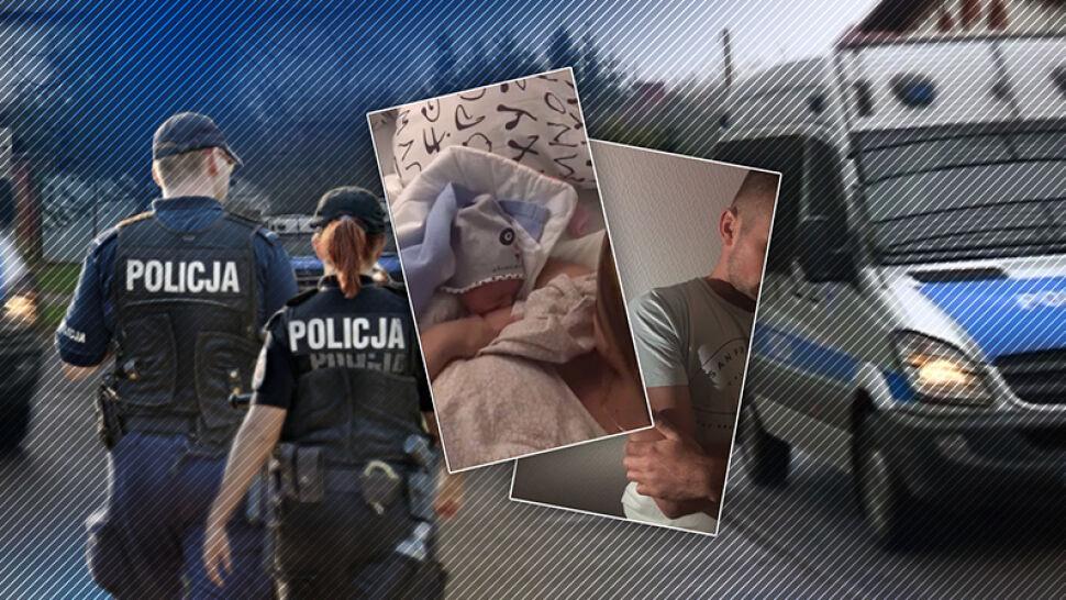 Policja poszukuje rodziców, którzy uciekli z noworodkiem ze szpitala