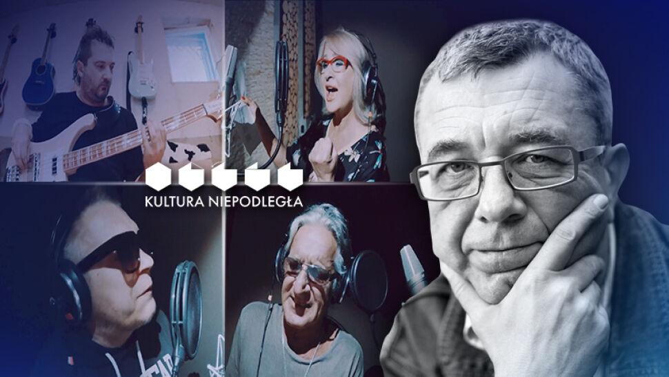 """Hymn """"Kultury Niepodległej"""" zadedykowany Grzegorzowi Miecugowowi"""