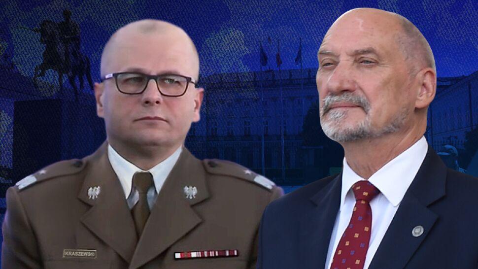 Antoni Macierewicz: procedura sprawdzania generała Kraszewskiego może potrwać nawet rok