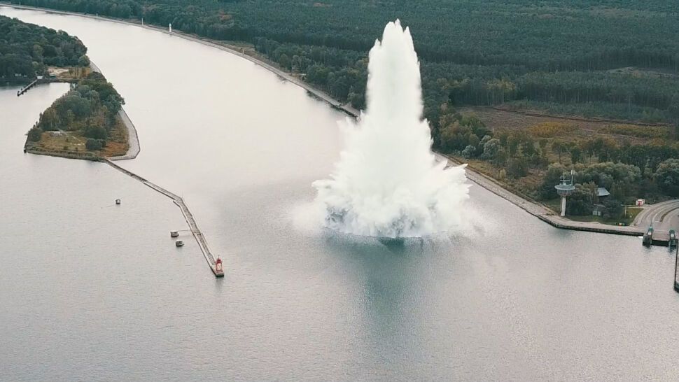 Tallboy zdetonowany w Kanale Piastowskim. Na czym polega metoda deflagracji?