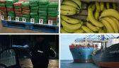 Kokaina w kartonach z bananami. Policja bada tropy