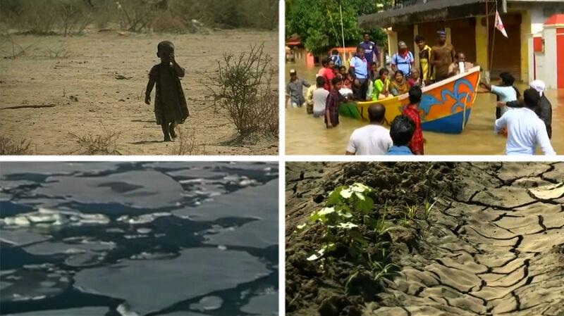 Powodzie, susze i pożary. Niepokojący raport o zmianach klimatycznych