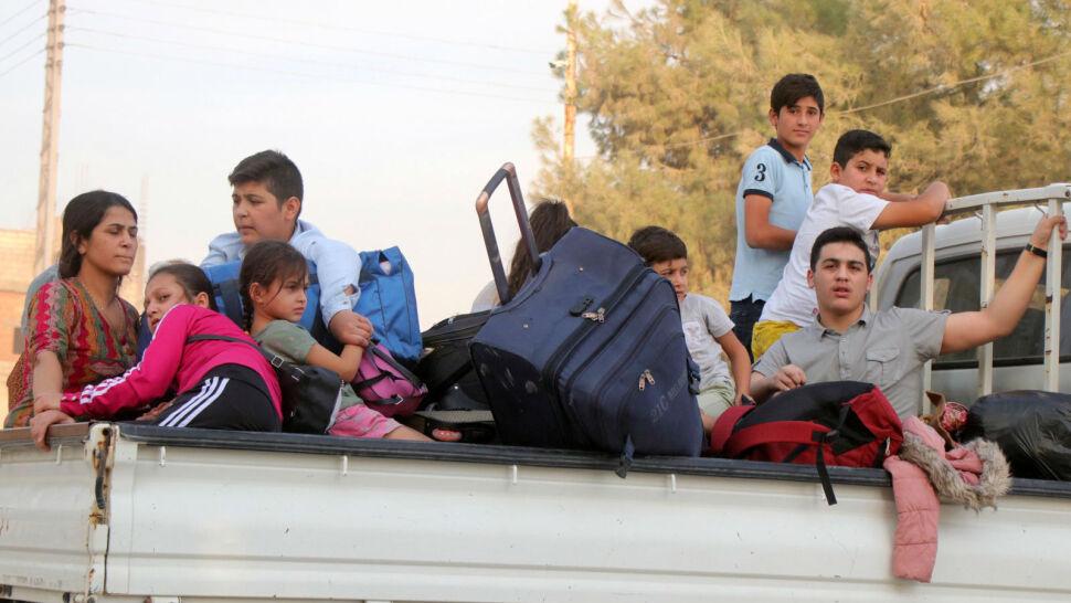 Tureccy żołnierze wkroczyli do Syrii. Cywile musieli uciec ze swoich domów