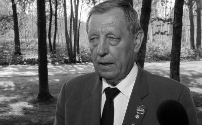"""Nie żyje profesor Jan Szyszko. """"Ze smutkiem i żalem żegnam kolegę posła"""""""