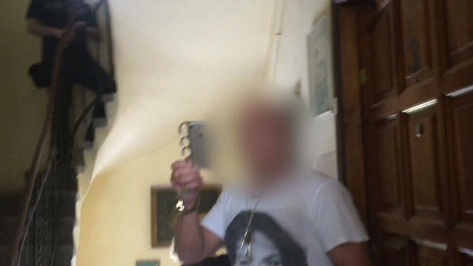 Atak gazem na sąsiadów. Nowe nagranie w sprawie Wiesława K., pseudonim Simon