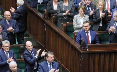 Litania zarzutów i głosowanie bez niespodzianek. Sejm debatował nad wotum nieufności