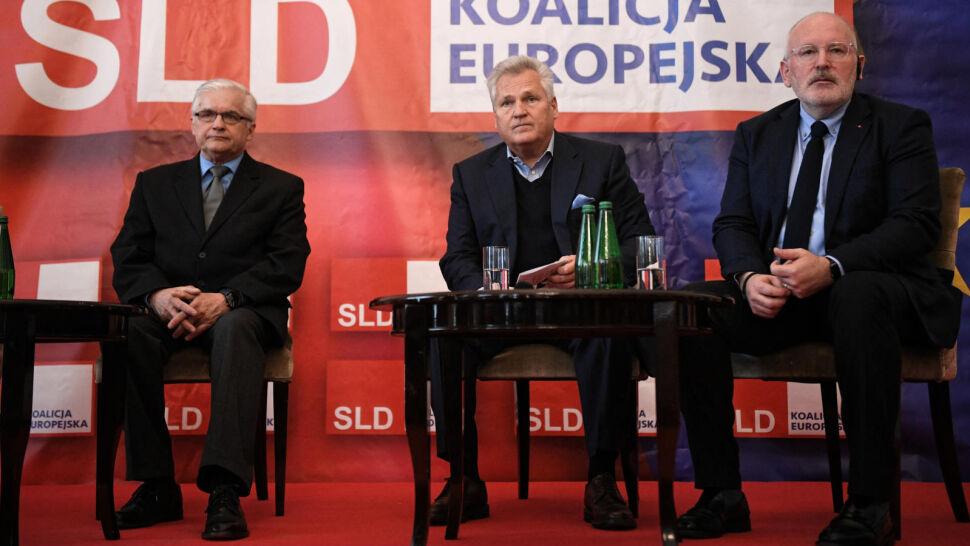 """""""Jest ciągle wiceprzewodniczącym KE, która bardzo polski rząd krytykuje"""""""