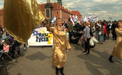 Przeciw agresji i antysemityzmowi. Marsz upamiętniający ofiary Holokaustu