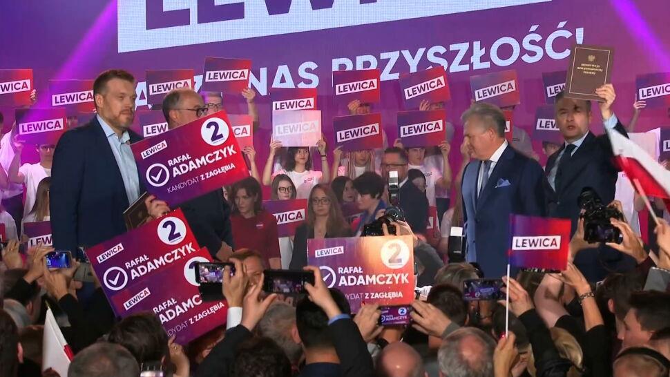 Obietnice dla seniorów i wsparcie od Kwaśniewskiego. Konwencja wyborcza Lewicy