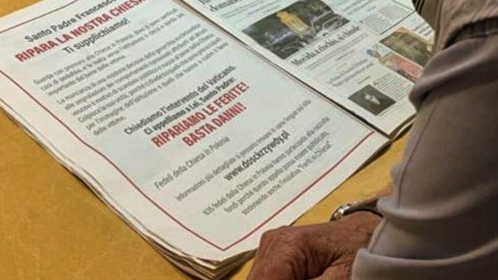 Wykupili ogłoszenie i apelują do papieża. Chodzi o problem pedofilii w Kościele