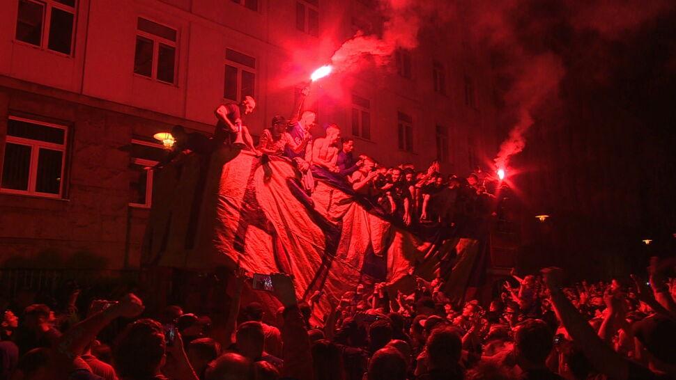 Piłkarze Piasta Gliwice po raz pierwszy w historii wywalczyli mistrzostwo Polski