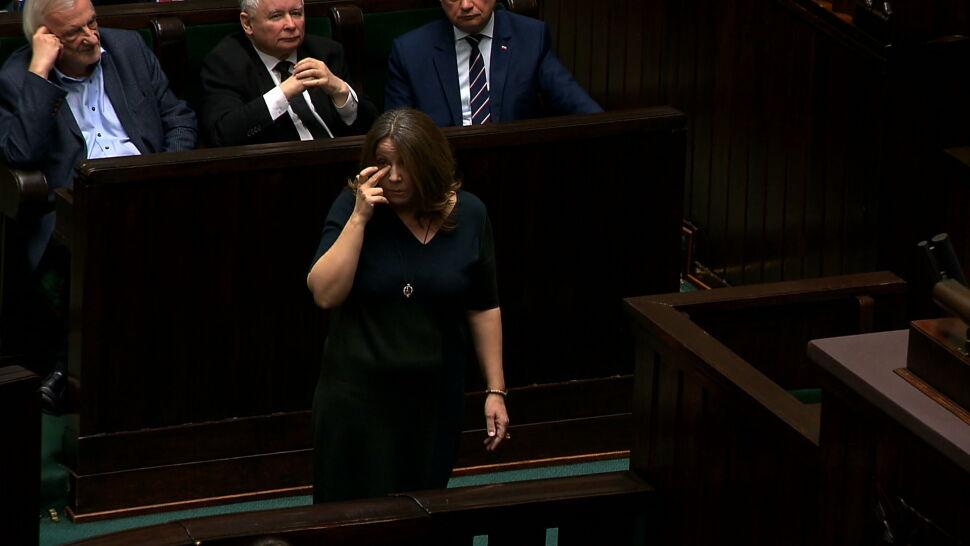 Opozycja domaga się ukarania Joanny Lichockiej