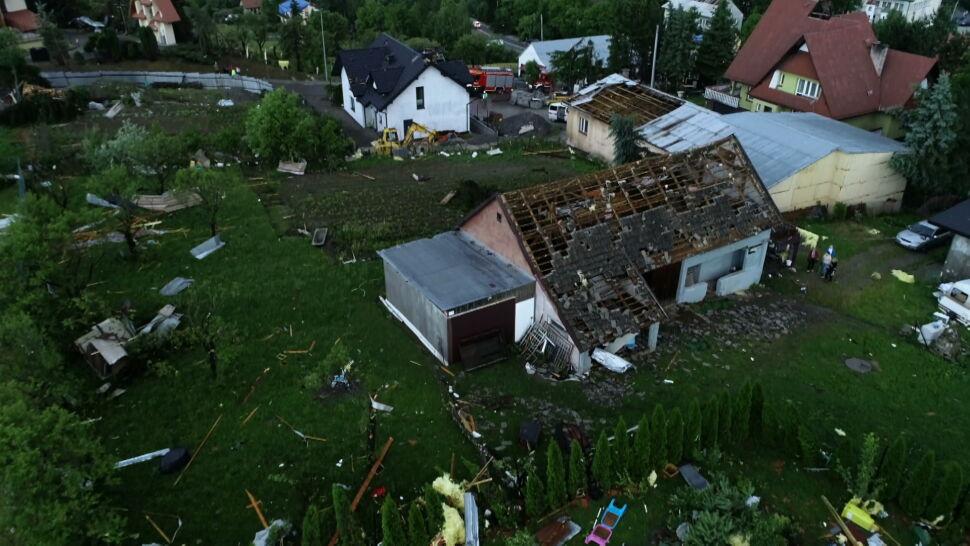 Trąby powietrzne i tornada. Ekstremalne zjawiska w Małopolsce i na Morawach