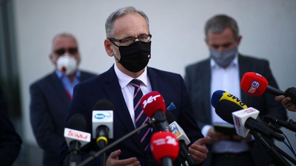 """Minister zdrowia o prognozach rozwoju epidemii. """"Należy spodziewać się kontynuacji trendu"""""""